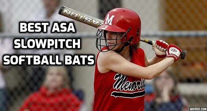 best asa slowpitch softball bats